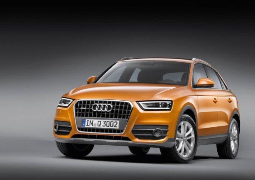"""Naujasis """"Audi Q3""""`"""