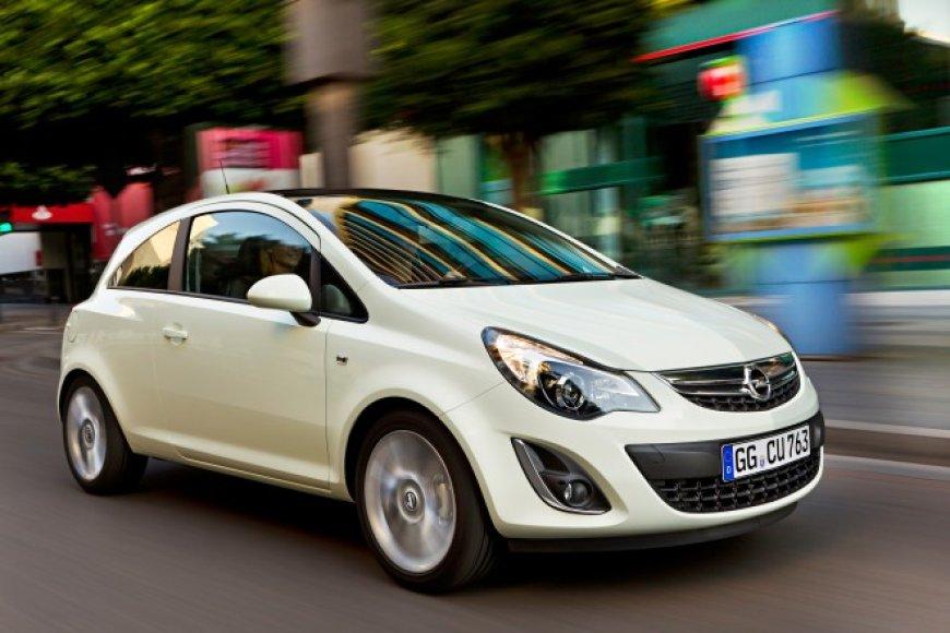 """""""Opel Corsa LPG"""" – pirmasis dujomis varomas """"Opel"""" automobilis"""