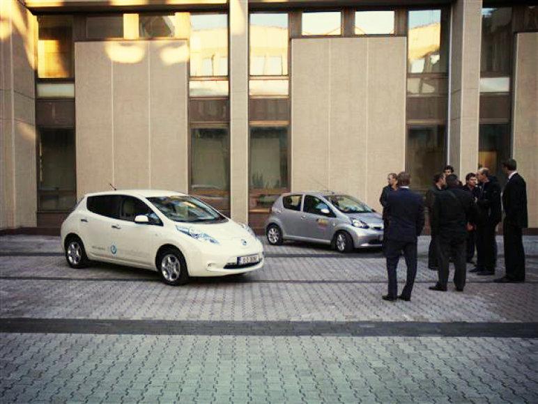 """Nissan Leaf"" sulaukė nemažai susidomėjimo"
