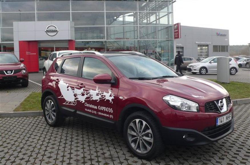 """""""Nissan Qashqai"""" pasiruošęs kelionei į Laplandiją"""