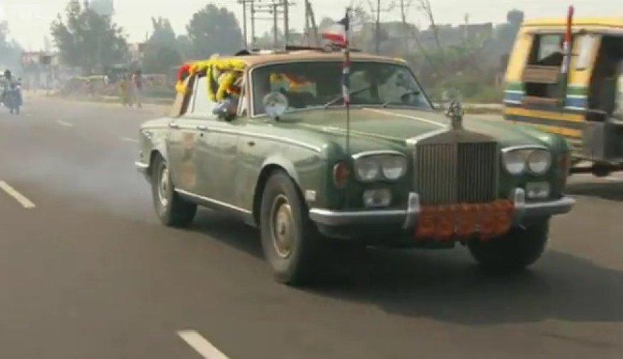 """Top Gear"" kelionės po Indiją akimirka"