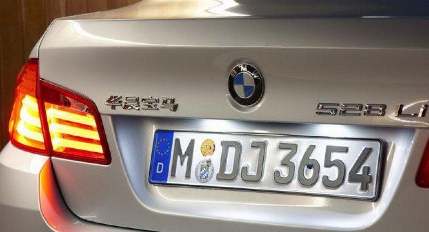 BMW 528Li Kinijos rinkai