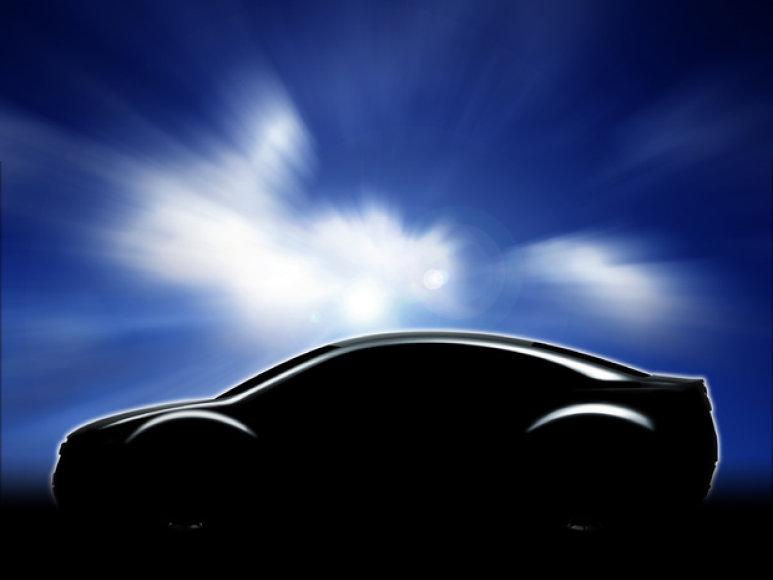 """""""Subaru"""" kupė užuomina"""