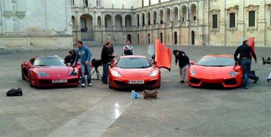 """""""TopGear"""" vyrukai pastebėti Italijoje"""
