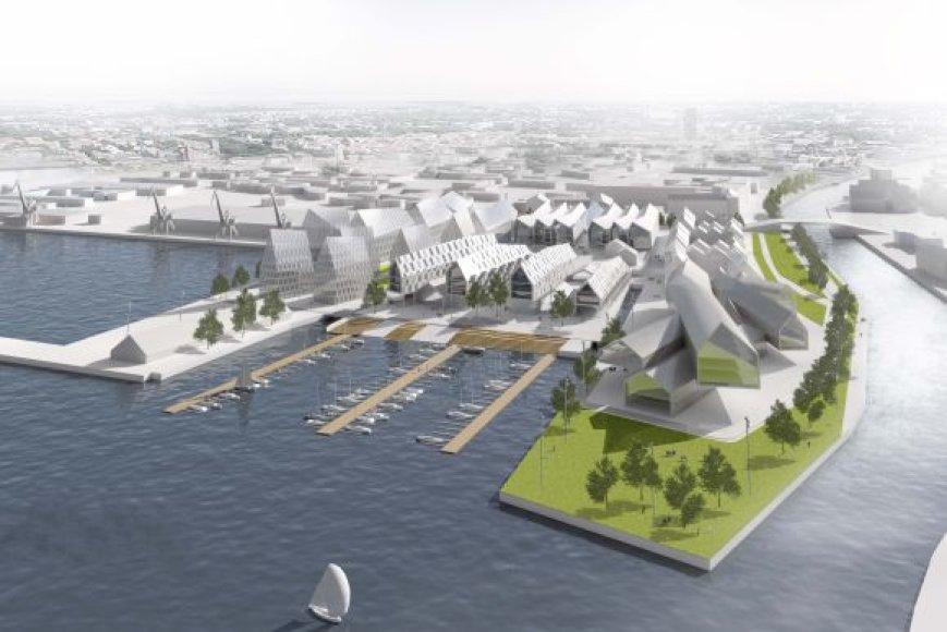 Architekturine koncepcija_Schmidt Hammer Lassen Architects (Danija)