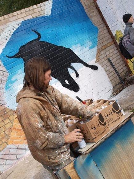 Graffiti menininkas iš Vokietijos - Loomit.