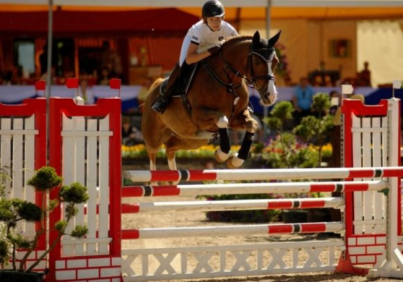 D_Matulyte_su zirgu Paulchen Panther