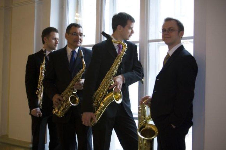 Rygos saksofonų kvartetas.