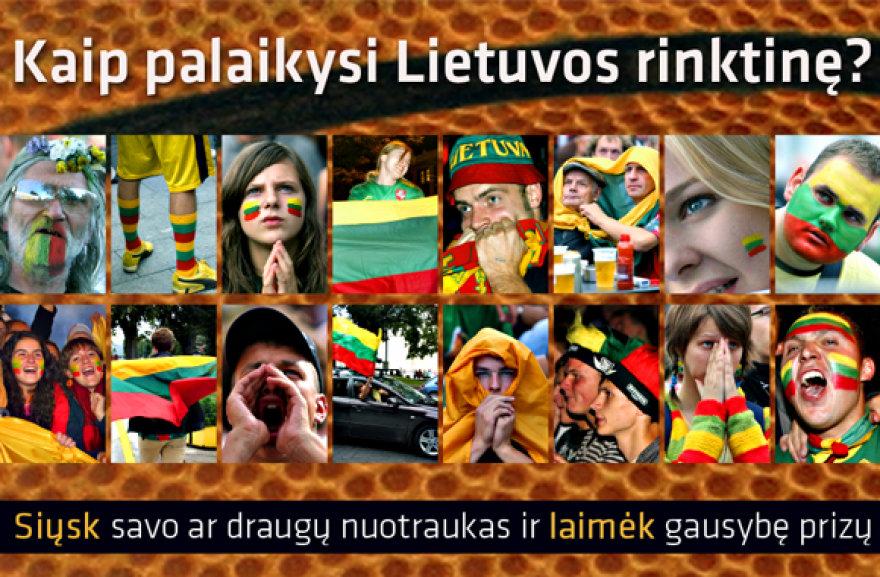 Kaip tu palaikai Lietuvos rinktinę