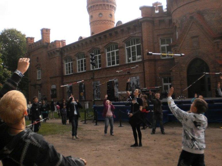 Žongliravimo pamokos