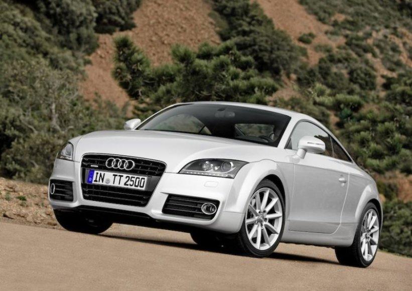"""""""Audi TT"""" sulaukė kosmetinio atnaujinimo"""