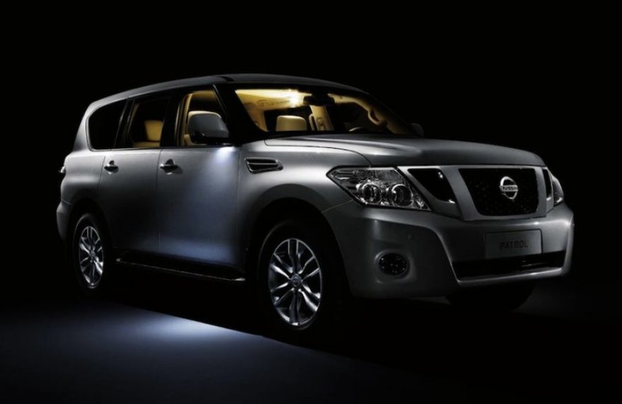 """Naujasis """"Nissan Patrol"""" – didesnis ir prabangesnis"""