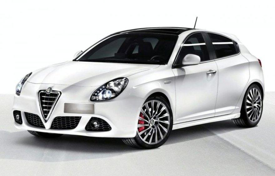 """""""Alfa Romeo Giulietta"""" pažadins konkurentus"""