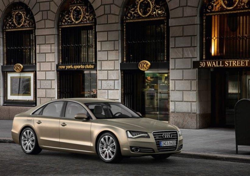 "Naujasis ""Audi A8"" – artėjant link tobulybės"