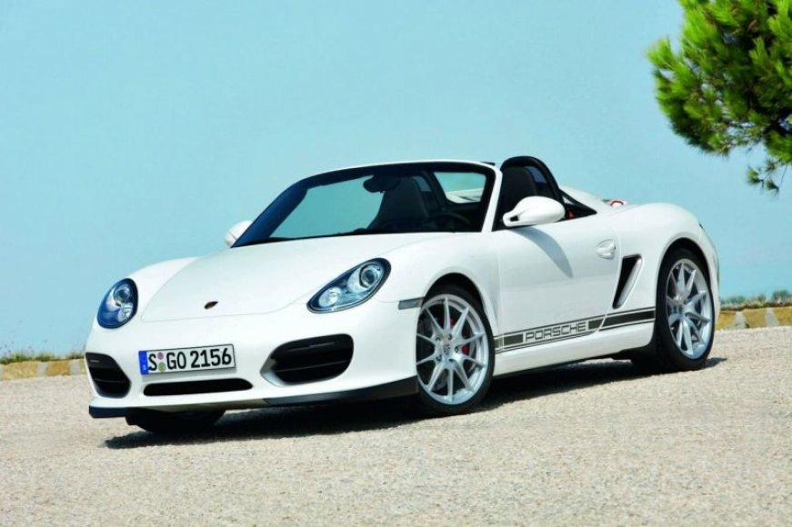 """""""Porsche Boxster Spyder"""" ateityje gali būti varomas vien elektra"""