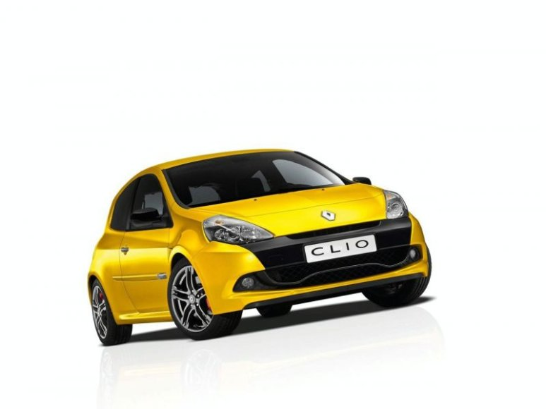 """""""Renault Clio RS200"""" patiks """"Formulės-1"""" gerbėjams"""
