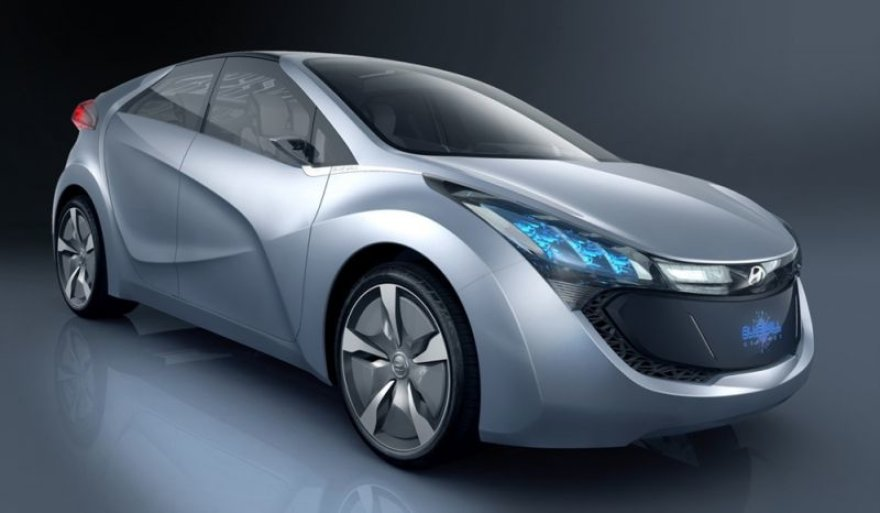 """""""Hyundai BLUE-WILL"""" - nauja hibrido koncepcija"""