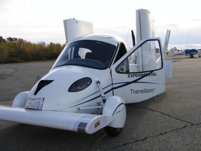 """""""Terrafugia"""" koncepcija – skraidančių automobilių era prasideda?"""