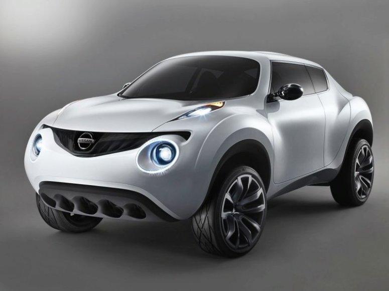 "Ženeva 2009: ""Nissan Qazana"" koncepcija sukurta miestui"