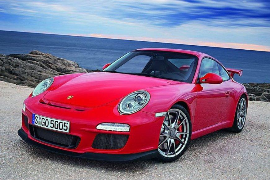 "Subtiliai atnaujintas ""Porsche 911 GT3"""