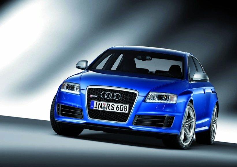"""Pristatomas """"Audi RS6"""" sedanas"""
