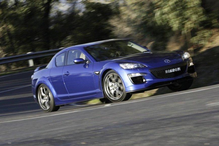 """Atnaujintas """"Mazda RX-8 R3"""" pasieks Jungtinę Karalystę"""