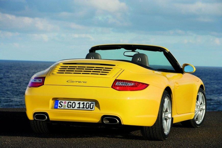 """""""Porsche 911"""" laukia subtilus atnaujinimas"""