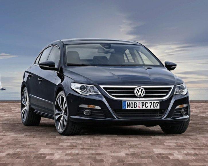 """""""Volkswagen"""" pristatė naująjį """"Passat CC"""""""