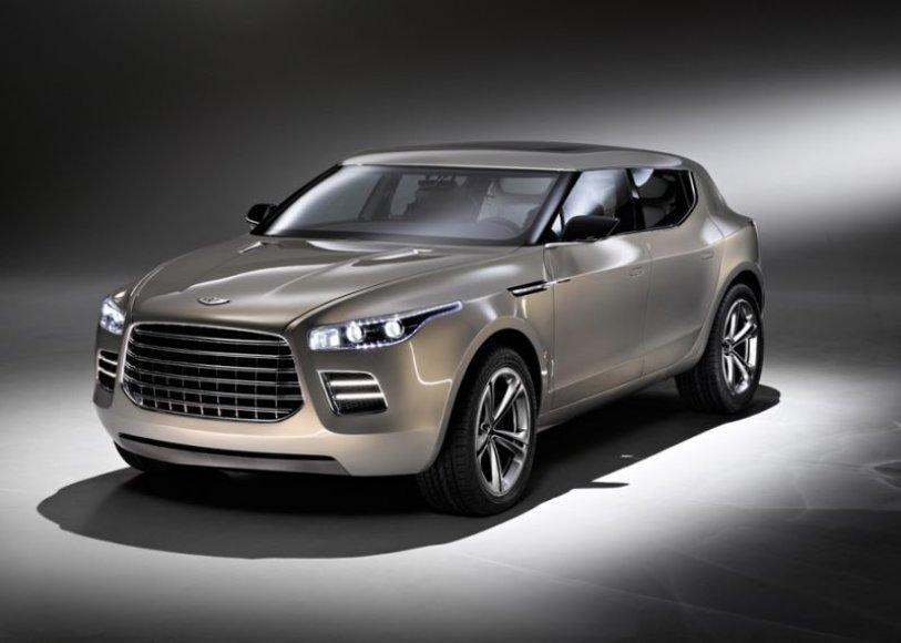 """""""Aston Martin Lagonda"""" projektas ištrauktas iš stalčiaus?"""