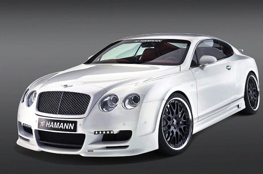 """Hamann Bentley Continental GT"" sužavės išvaizda ir galia"