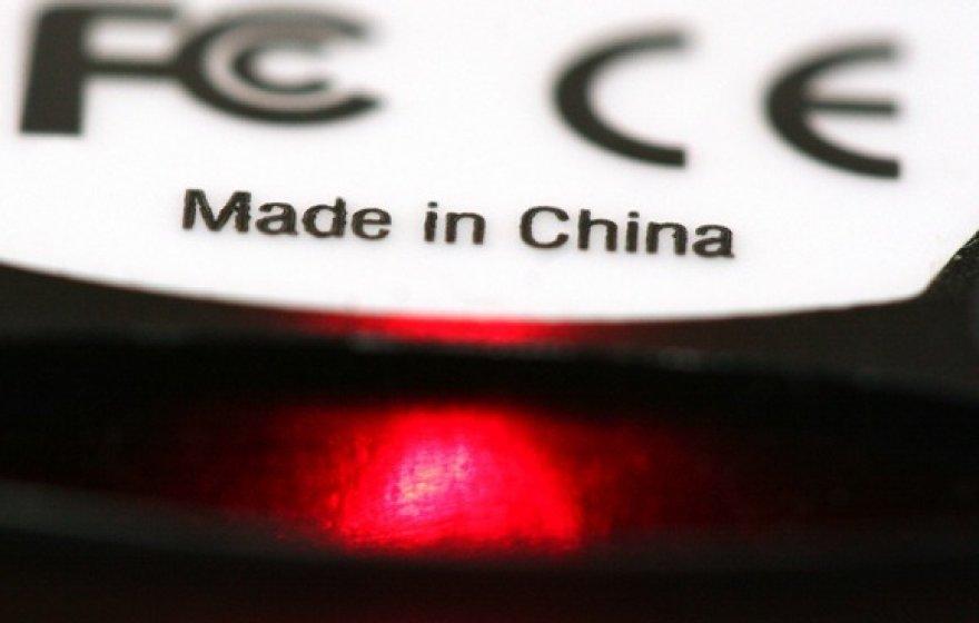 Pagaminta Kinijoje