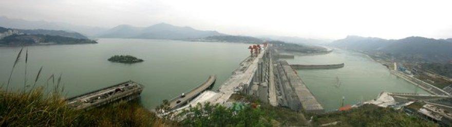 Jangdzės upės užtvanka