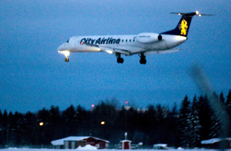 """City Airline"" lėktuvas"