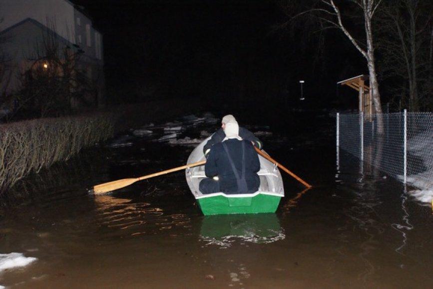 Potvynis Jonavos rajone