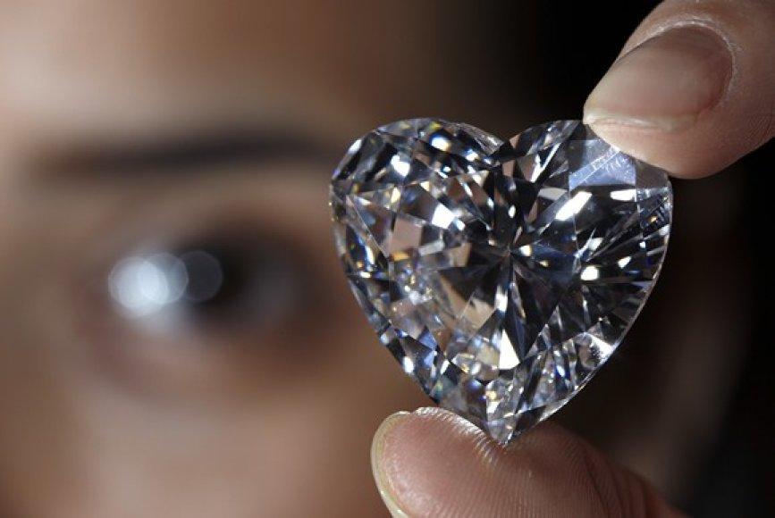 Širdies formos deimantas