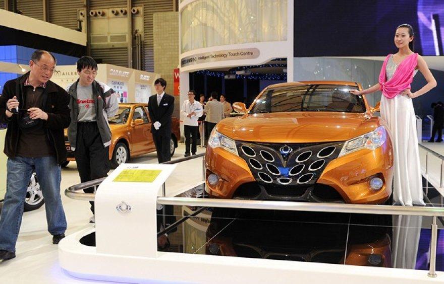 """Kinijos autmobilių gamintojų """"Geely"""" koncepcija"""