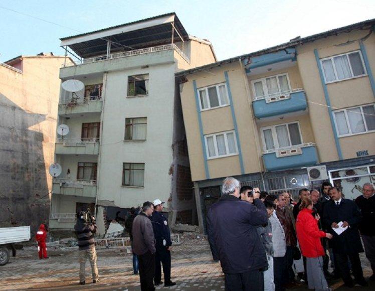 Žemės drebėjimo padariniai Turkijoje