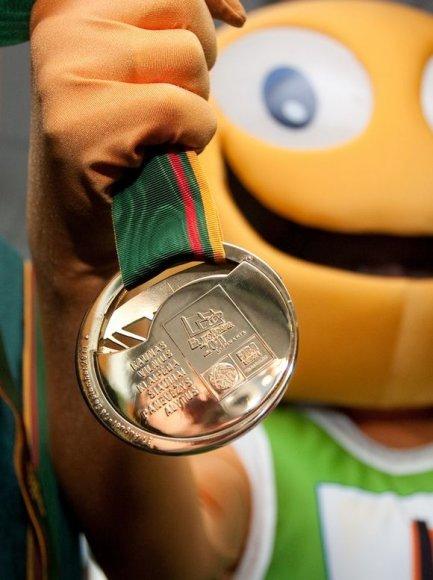 Lietuvos rinktinė Europos čempionate sieks aštuntojo medalių komplekto