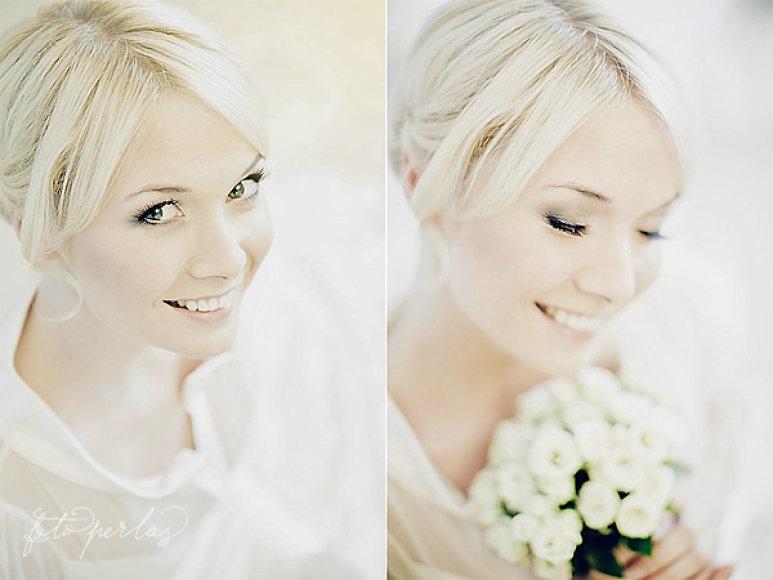 Natalija Bunkė vestuvinėje fotosesijoje