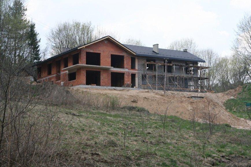 Statybos Pavilnių parke