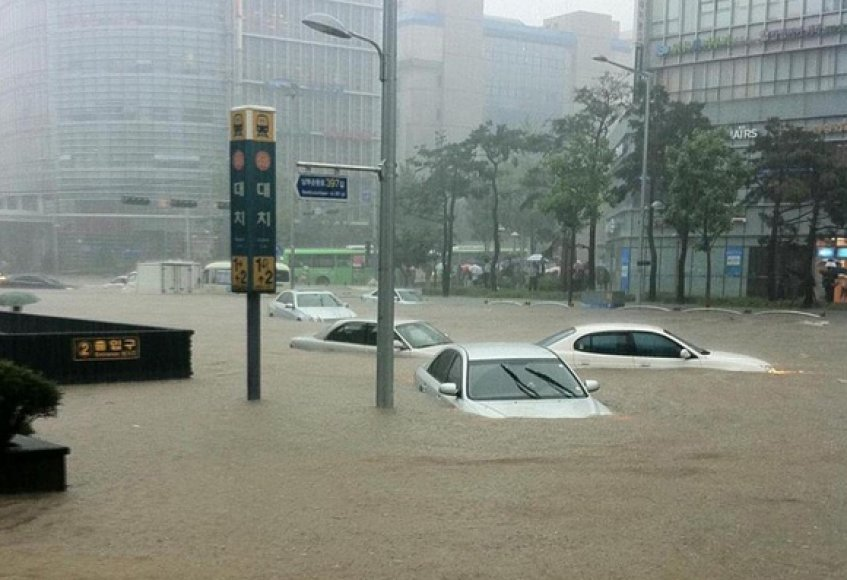 Potvynis Seule
