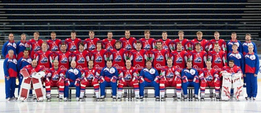 """""""Lokomotiv"""" ledo ritulio komanda"""