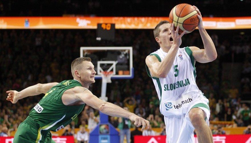 Rimantas Kaukėnas ir Jaka Lakovičius (dešinėje)