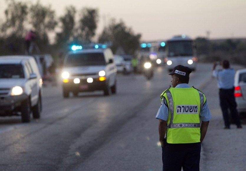 Izraelio policininkas
