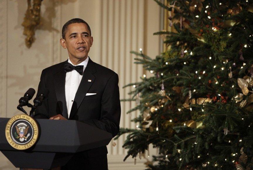 JAV prezientas Barackas Obama