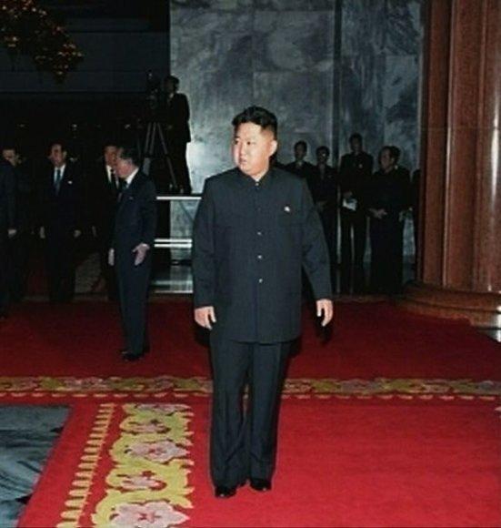 Šiaurės Korėjos lyderio įpėdinis Kim Jong-Unas