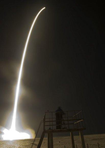 """""""Sujuz"""" raketos pakilimas"""