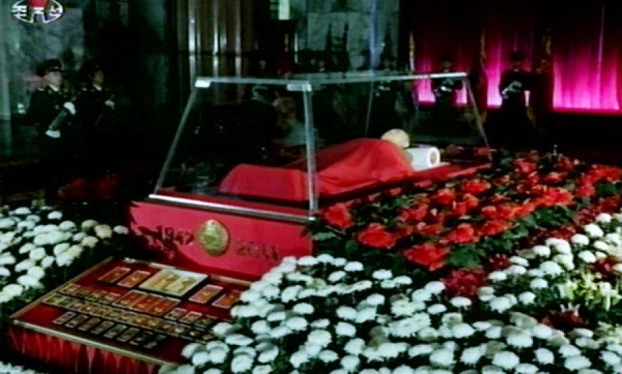 Atsisveikinimas su Šiaurės Korėjos lyderiu Kim Jong-Ilu