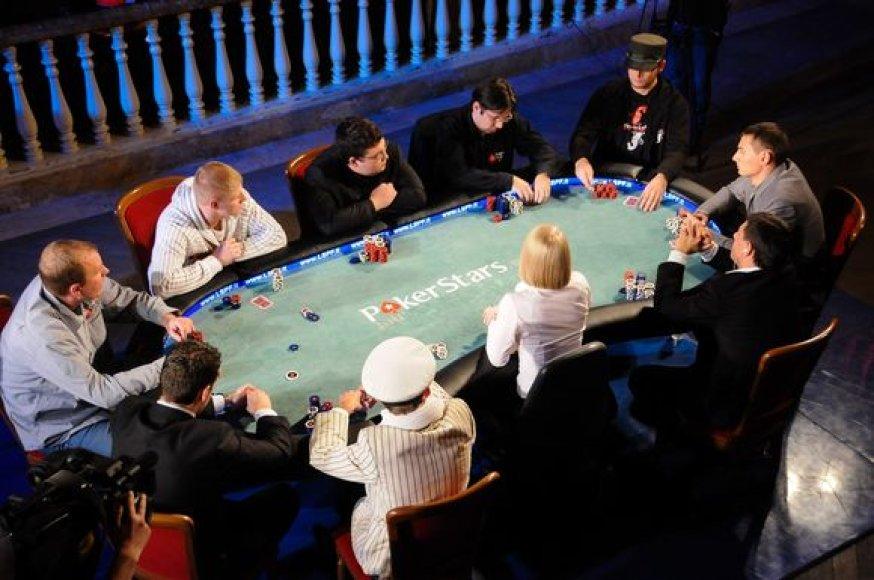 Lietuvos sportinio pokerio čempionato finalistai