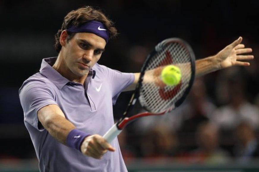 Geriausių pasaulio tenisininkų laukia finalinis turnyras Londone